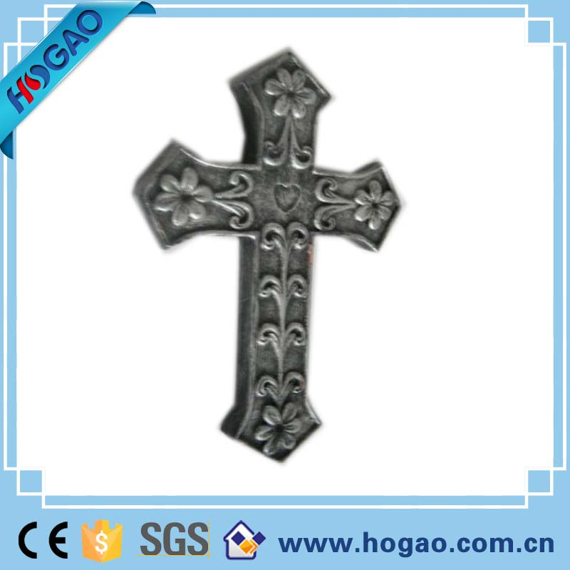 Wholesale vintage decorative resin wall cross religious home decoration