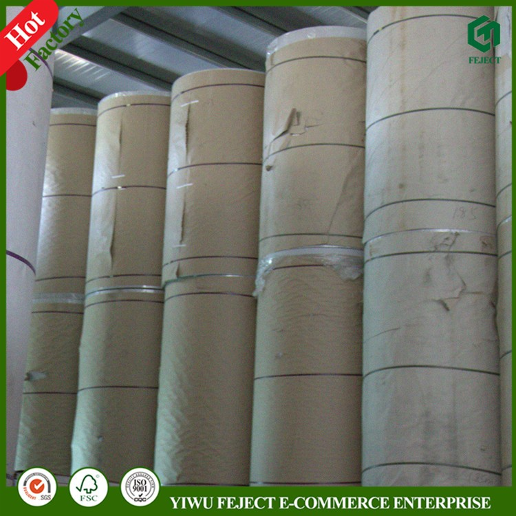 Single Side Poly Coated Wood Free Paper, PE Coated Offset Paper Rolls, Greaseproof, Waterproof, Heat Seal