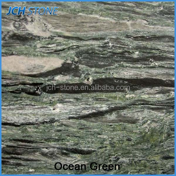 2016 Best price China ocean green granite tiles