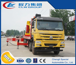 china manufacture Howo 150ton heavy lifting crane truck in construction