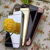 Hot Soft TPU Electroplating Mirror Case Cover For iphone 7 iphone 7 plus