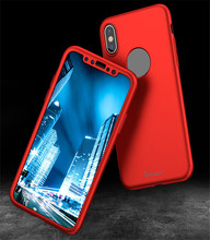 Ultra-Thin Premium Luxury Fashion PC Hard Case for Apple iPhone X Shock Absorption Anti-fingerprint CA6098
