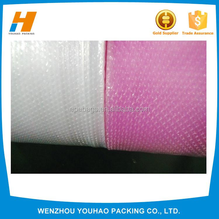 Alibaba China plastic Heart-shaped Air Bubble Packaging Roll with different size