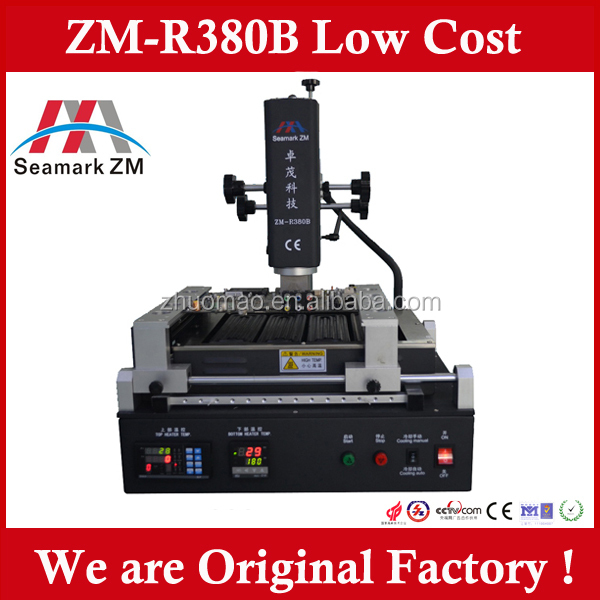 Zhuomao ZM-R380B BGA soldering robot/phone repair tool for notebook motherboard/PS3 repair