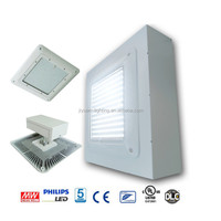 super bright 200w shop front canopy, UL CUL listed gas station led canopy light from china suppliers