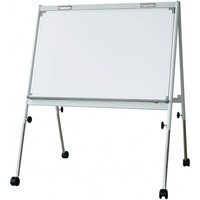 Single / Double Sided Deluxe Iron Flip Chart Board