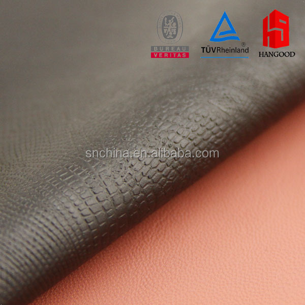 Quilting leather PVC leather for Bag buffalo leather