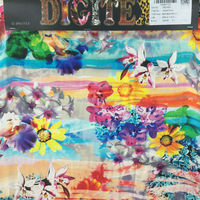High quality digital print silk fabric