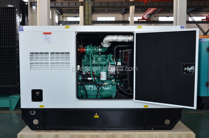 cheap price silent type ac three phase 45kw home standby generator