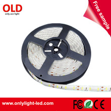 hot 2017 3000K 6000K white flexible 12v waterproof IP65 smd 5730 led strip light 5M 300leds