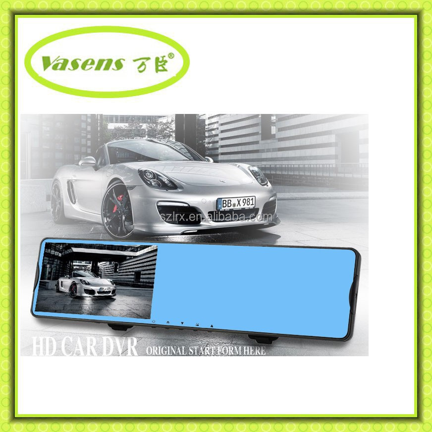 Newest 3.5 Inch TFT Touch Screen Monitor with Wireless Cameras twin lens ccd reversing camera