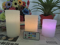 LED candle with 18 keys remote /2014 hot sale products