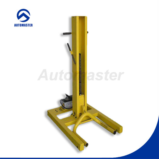 One Post Car Lift : Lb portable single post car lift with ce approval