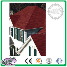 Wholesale cheap high quality manufacture top sale red asphalt roof tiles with high quality