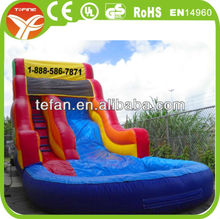 large inflatable water slides/inflatable sports water slides