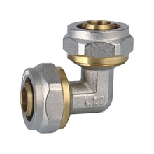 Pneumatic Brass/Copper 10mm Gas Pipe Compression Fittings