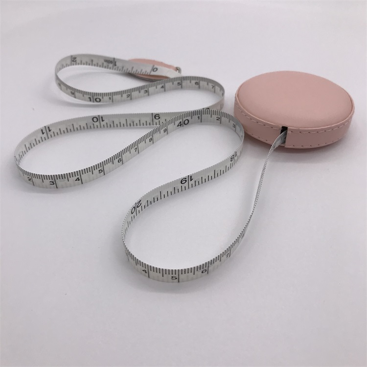 High quality customized  colorful promotional Convenient retractable tape measure 1.5 m soft Leather  tape measure