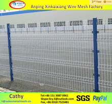 Road safety fence/PVC coated wire fencing for highway