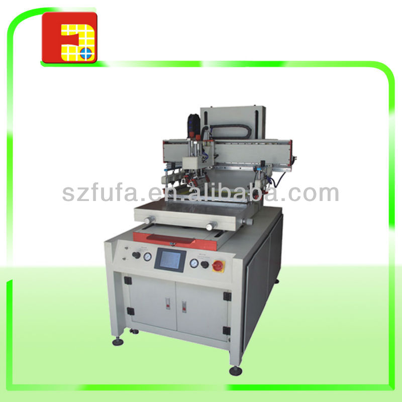 flat automatic used screen printing machine for t shirt