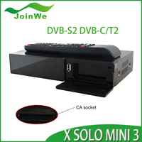 NEWEST 1200MHz Dual DMIPS Processor X SOLO mini 3 HD 1080P Satellite Receiver DVB-S2,DVB-T2/C Enigma2 Linux X SOLO mini3