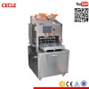 Economic semi automatic food tray machine