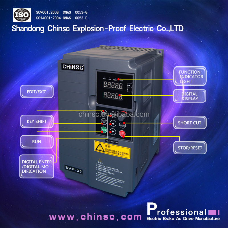 Universal 3 phase power frequency converter/inverter/ ac drive 60hz 50hz