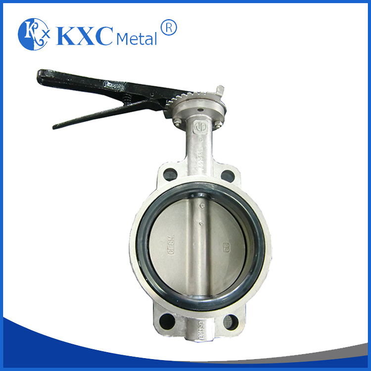 lug wafer electric butterfly valve , semi lug butterfly valve