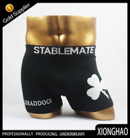 Newest arrival 95% polyester and 5% elstane Sublimation Printing Fashion mens boxer briefs