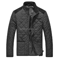 Mens new clothing ,UK style ,quilted padded jacket
