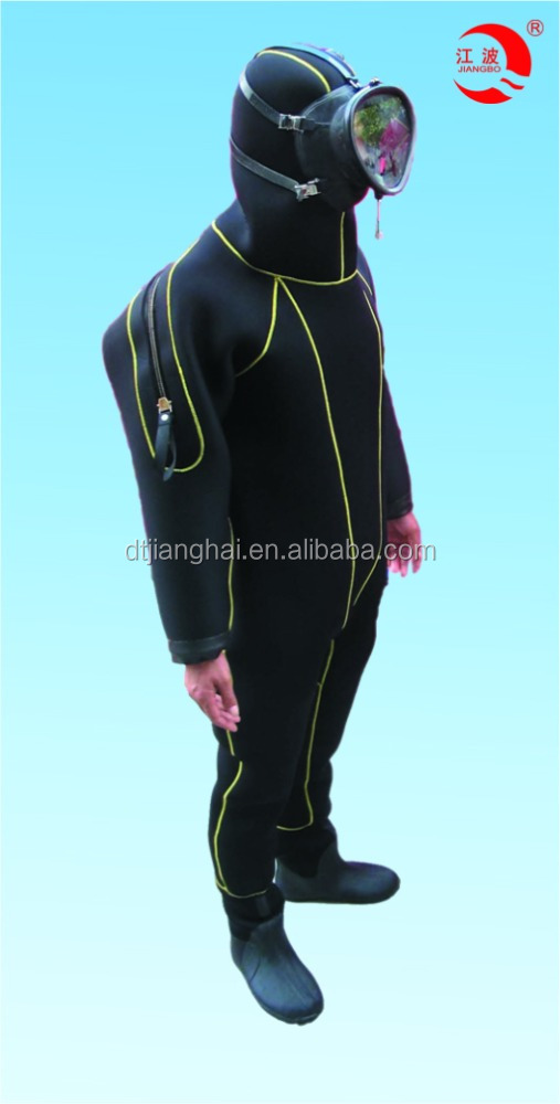 2016 solas approved full rubber diving suit for men