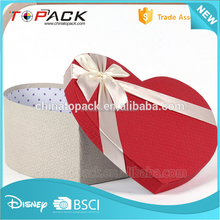 Custom OEM recycled handmade red decorative cardboard storage wedding favor boxes