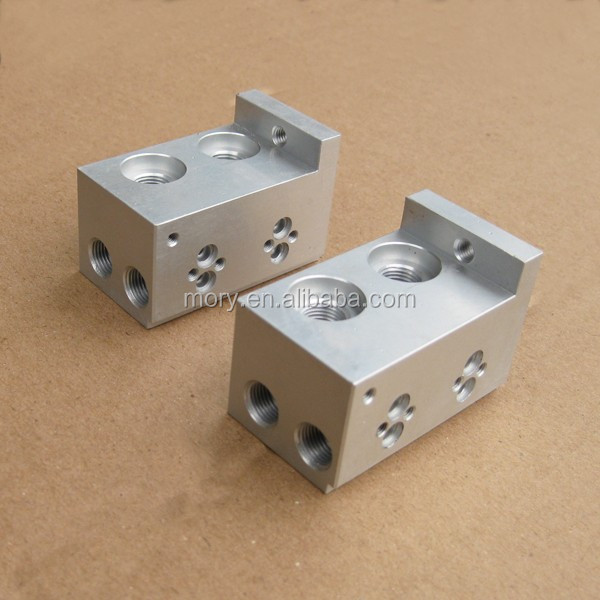Custom machined aluminum 6061 7075 prototype CNC spare parts