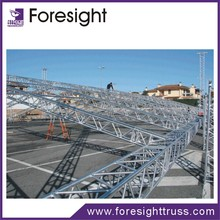 Hot selling aluminum truss stage,trade show booth and roof system with high quality