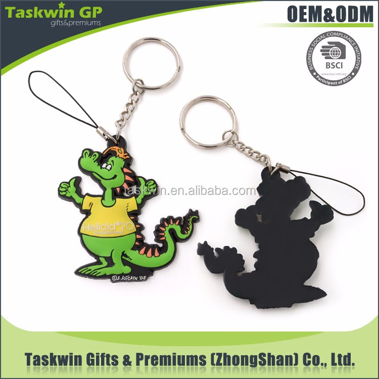 Customized Cute , fashion Cartoon keychain / Soft 3D pvc keychain / Rubber key chain