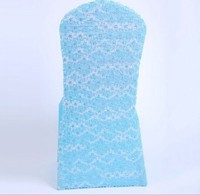Wholesale ruffled wedding chair cover, polyester material chair covers,spandex chair cover for wedding/banquet