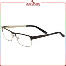 Laura Fairy India Spectacle Frames ODM CE Adjustable Metal Men Eye Glasses Frame