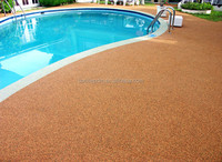PU adhesive for rubber swimming pool deck