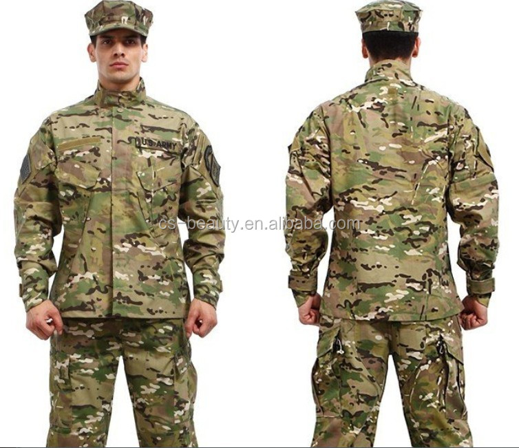 Good Quality CP Camo Army Military Tactical Cargo Pants Uniform Camouflage Tactical Military BDU Combat Uniform US Army Sets
