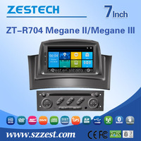 2 din 7 inch car dvd player For Renault Megane II Megane III 2 din 7 inch car dvd player gps navigation system