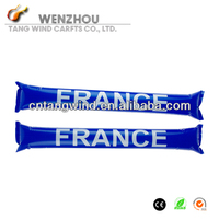 2C Printed France Promotional Inflatable Sticks