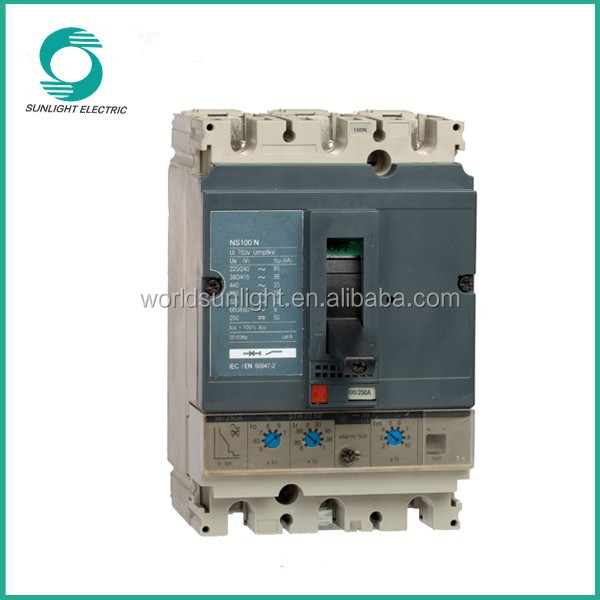 NS MCCB 100A high quality Moulded Case circuit breaker