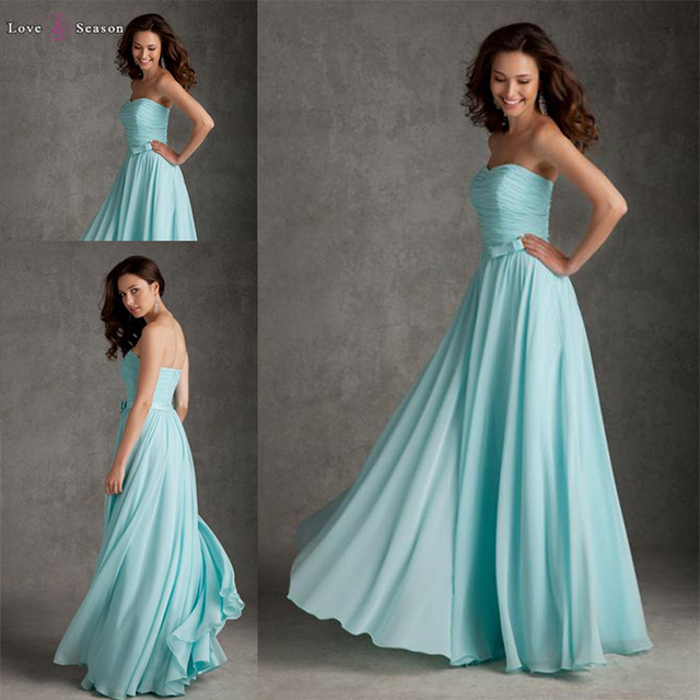 HB2051 guangzhou bridesmaid custom sweetheart long mint green prom dress with belt