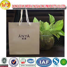 China Supplier Customized Popular Wholesale Paper Wine Bottle Carrying Gift Bag