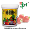 SABLEE strawberry fruit jam for cake filling decoration with HALAL 300g JB02