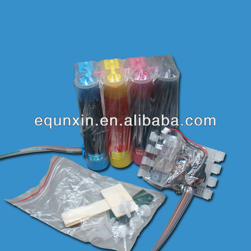 t1261-t1264 ciss with ink for epson workforce 630/635/60/840435/545/645/845 with combo arc chip