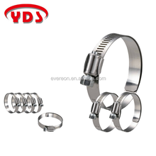 Taiwan hose pipe fittings clamp for water pump and hydraulic pump