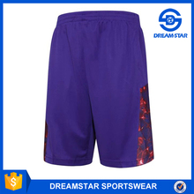 Customized Your Logo Purple Basketball Shorts