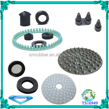 custom made shower head silicone rubber products