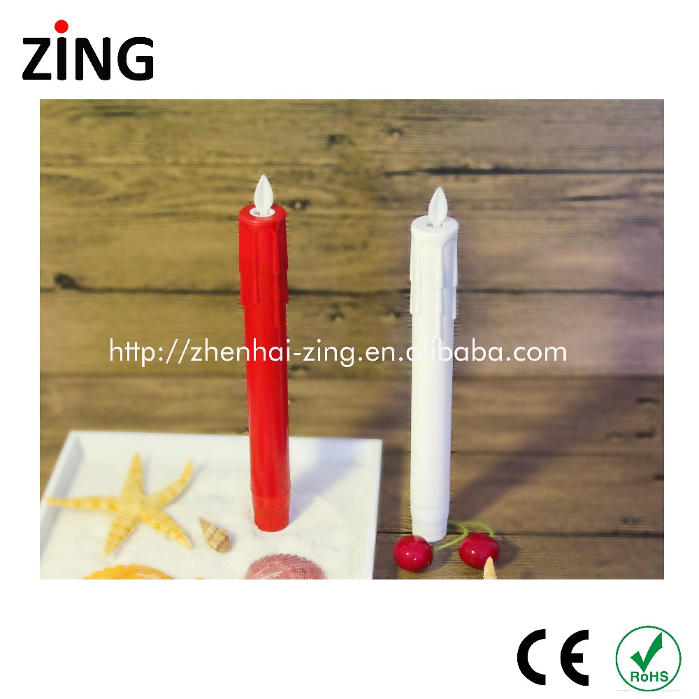 2017 New christmas decorative LED taper candles wholesale online
