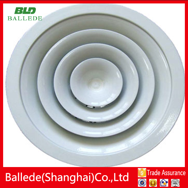 HVAC system Aluminum ceiling round circle air ventilator